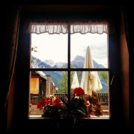 From the restaurant window